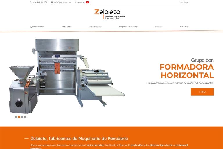 Nueva página web zelaieta.com