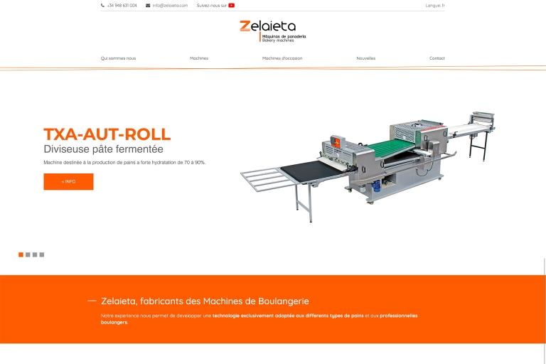 Nouvelle page web zelaieta.com